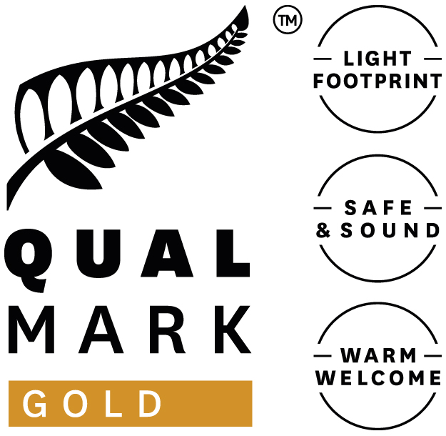 QualMark endorsed visitor transport logo.